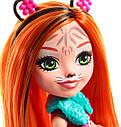 Кукла Enchantimals тигр Тензи Тигра Тайгер с питомцем FRH39, фото 4