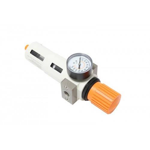 """Фильтр-регулятор с индикатором давления для пневмосистемы """"Profi"""" 1"""""""