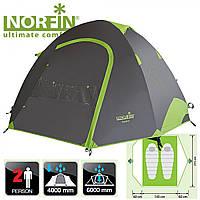 Палатка трекинг  2-х местная  Norfin SMELT 2 ALU  4000мм