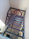 Каркас сходів з розворотом. Металокаркас для сходів, фото 4
