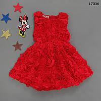 Нарядное платье для девочки. 90, 120 см, фото 1