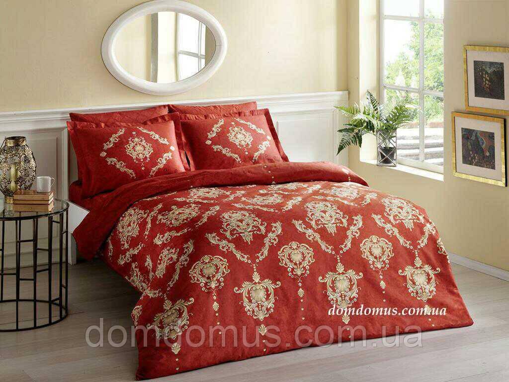 Комплект постельное белье Евро (сатин), Pierre Cardin, Турция 317
