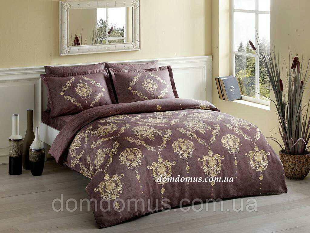 Комплект постельное белье Евро (сатин), Pierre Cardin, Турция 318