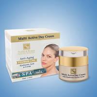 Крем для лица Health&Beauty Мультиактивный дневной с гиалуроновой кислотой и экстрактом икры 50  мл.