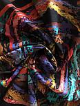 10277-18, павлопосадский платок (на голову, шейный) хлопковый (батист) с подрубкой, фото 7