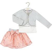 Набор детской одежды Verscon праздничный (3580-104G-coral)