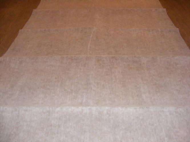 Ткань фильтровальная 17 г/м2, шир. 1.6 м, 100м, белый - фото 7