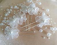 Свадебые шпильки бижутерия, украшения для волос. Свадебные аксессуары. 132