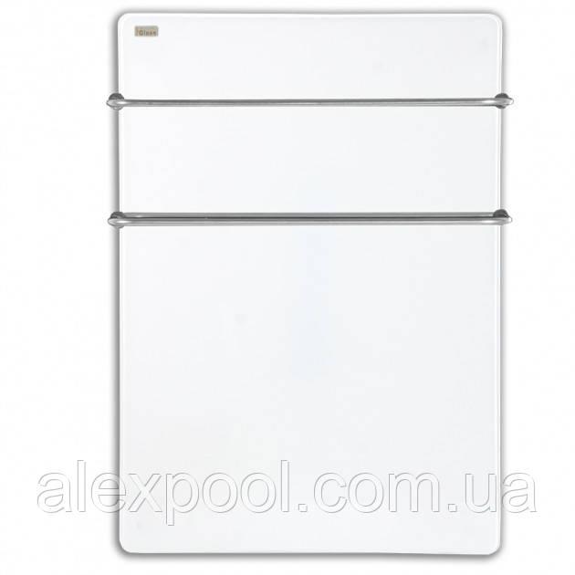 Полотенцесушитель стеклокерамический HGlass Basic 5070 W Белый 400 Вт