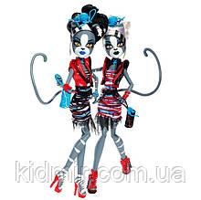 Набор Monster High серии Zombie Shake Мурсефона и Мяулодия (Meowlody & Purrsephone) Монстр Хай