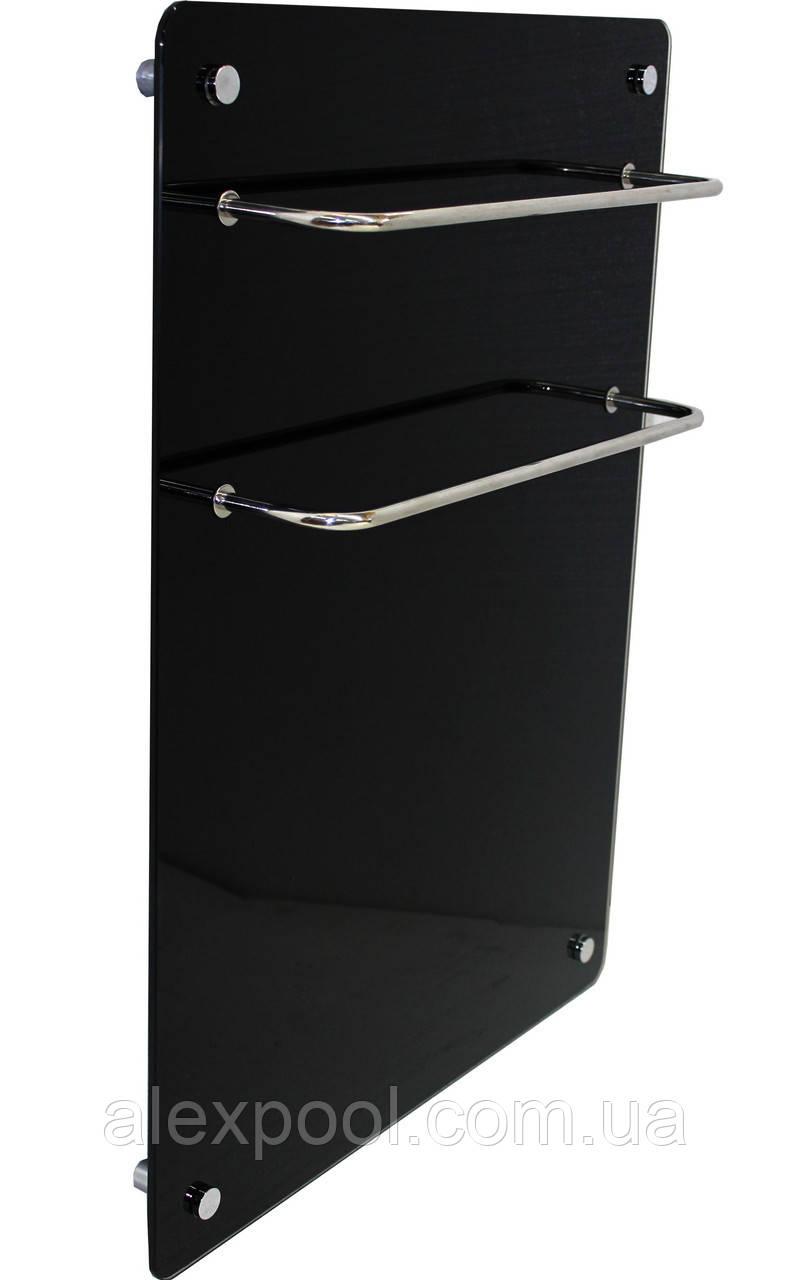 Полотенцесушитель стеклокерамический HGlass Basic 5070 B Черный 400 Вт