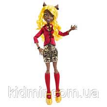Кукла Monster High Клавдия Вульф (Clawdia Wolf)  из серии Frights, Camera, Action! Монстр Хай