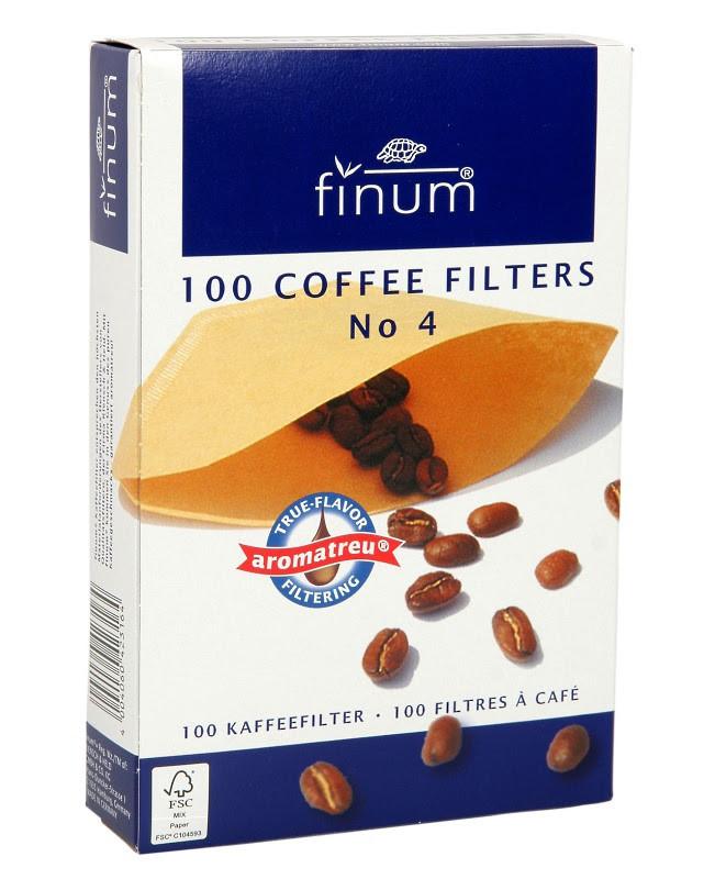 Фильтр для кофе Finum №4 10212
