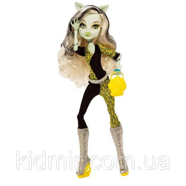 Кукла Monster High Фрэнки Штейн (Frankie Stein) из серии Freaky Fusion Монстр Хай