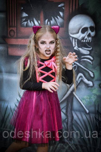 Детский карнавальный костюм к хеллоуину Кошка