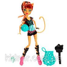 Кукла Monster High Торалей Страйп (Toralei Stripe) из серии Ghoul Sports Монстр Хай