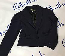 Пиджак для девочки размеры 122-158 см