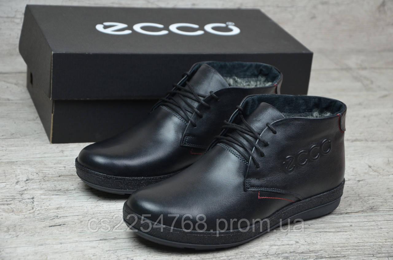 68ff2de3b Ботинки Мужские Кожаные в Стиле Ecco — в Категории