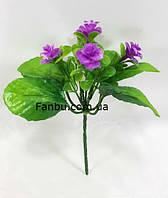 Куст искусственного колокольчика ,цвет фиолетовый, фото 1