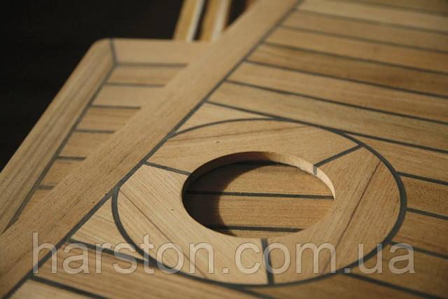 Изготовление и укладка тиковых палуб