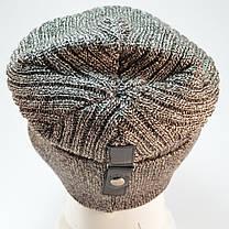 """Чоловіча шапка Nord """"Кнопка"""" з відворотом, фото 3"""