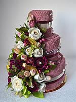 "Торт из полотенец ""Винтаж"", фото 1"