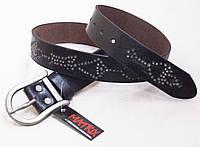 Женский кожаный ремень для джинс Matrix