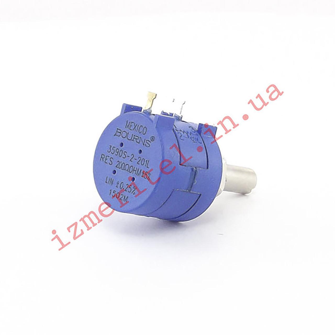 Потенциометр 3590S-2-201L 200 Ом