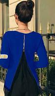 Блуза с кружевом и шифоновой спиной 068/01, фото 1