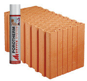 Керамические блоки Porotherm Dryfix