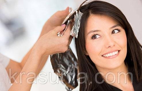 Окрашивание волосы во время беременности