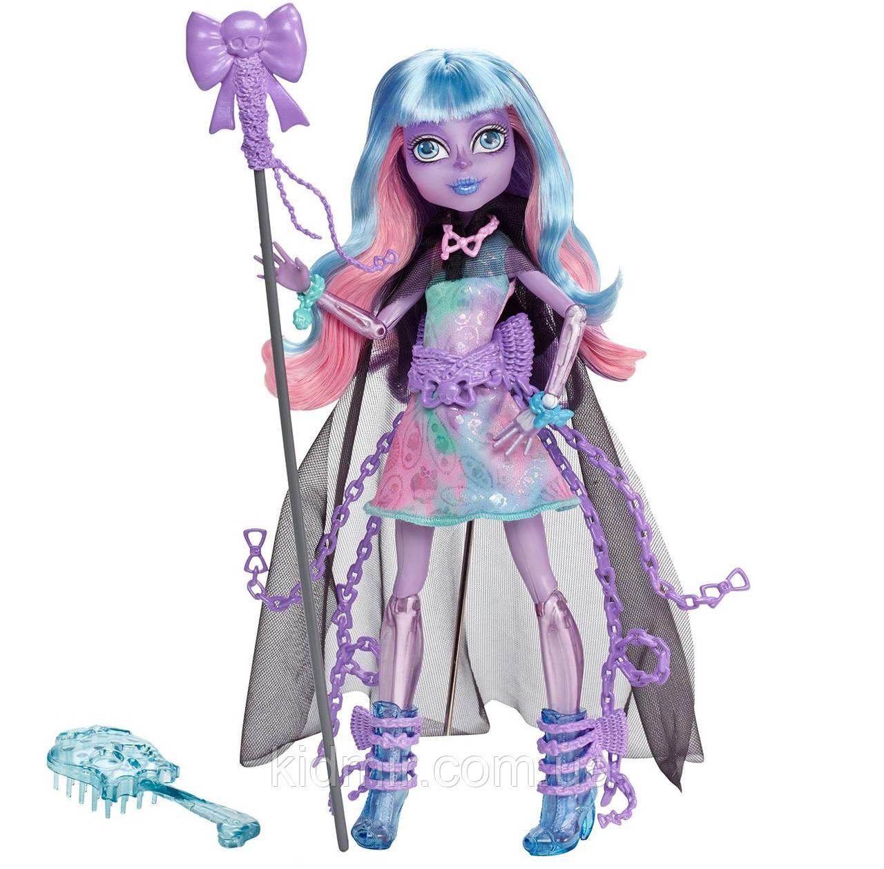 Кукла Monster High Ривер Стикс (River Styxx) из серии Haunted Student Spirits Монстр Хай