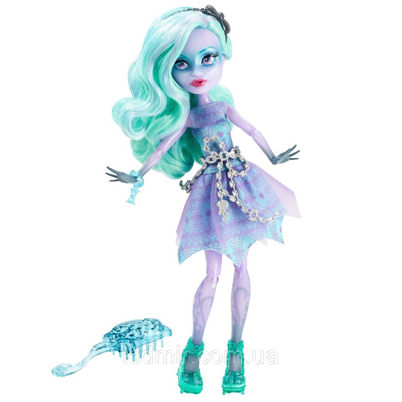 Кукла Monster High Твайла (Twyla) из серии Haunted Getting Ghostly Монстр Хай