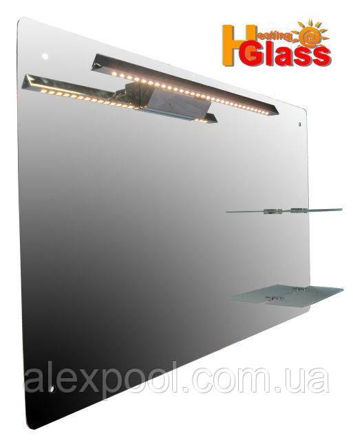 Теплое зеркало HGlass IHM 6010 L 100Вт