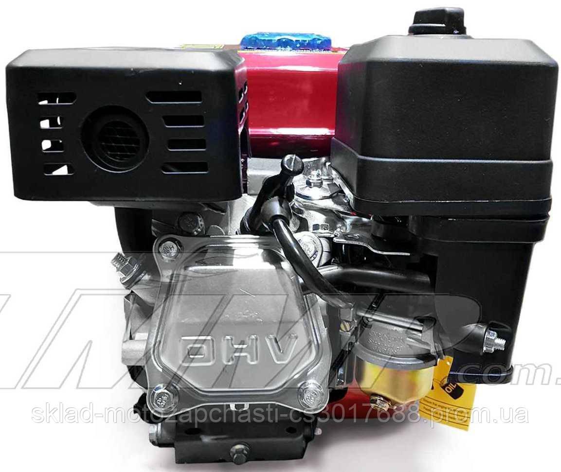 Двигун мотоблока 170F d=19mm під шпонку (7,5 HP, датчик масла , паперовий фільтр) Артикул: D-1024