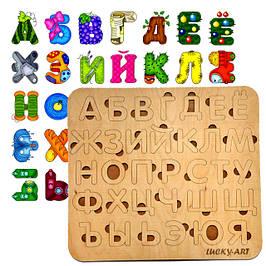 Русский алфавит (магнитный, деревянный, акриловый)