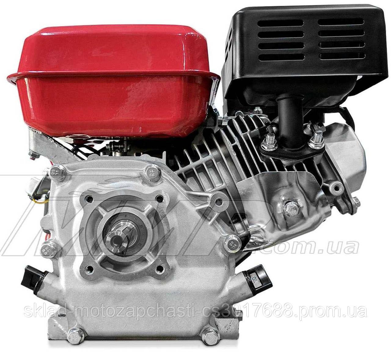 Двигун для мотоблока 170F d=25mm під шліц (7,5 HP, датчик масла , паперовий фільтр)