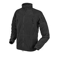 Куртка флисовая Helikon-Tex® STRATUS® Jacket - Heavy Fleece - Черная