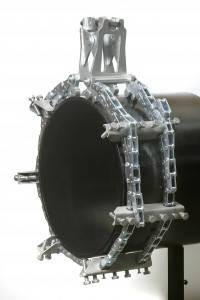 """Центратор з двома ланцюгами для труб 12-24"""" (305-610 мм)"""