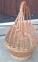 Плетеная корзина под подарки