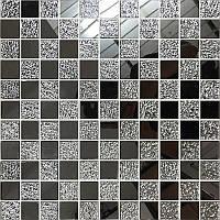 Зеркальная мозаика серая на клеевой