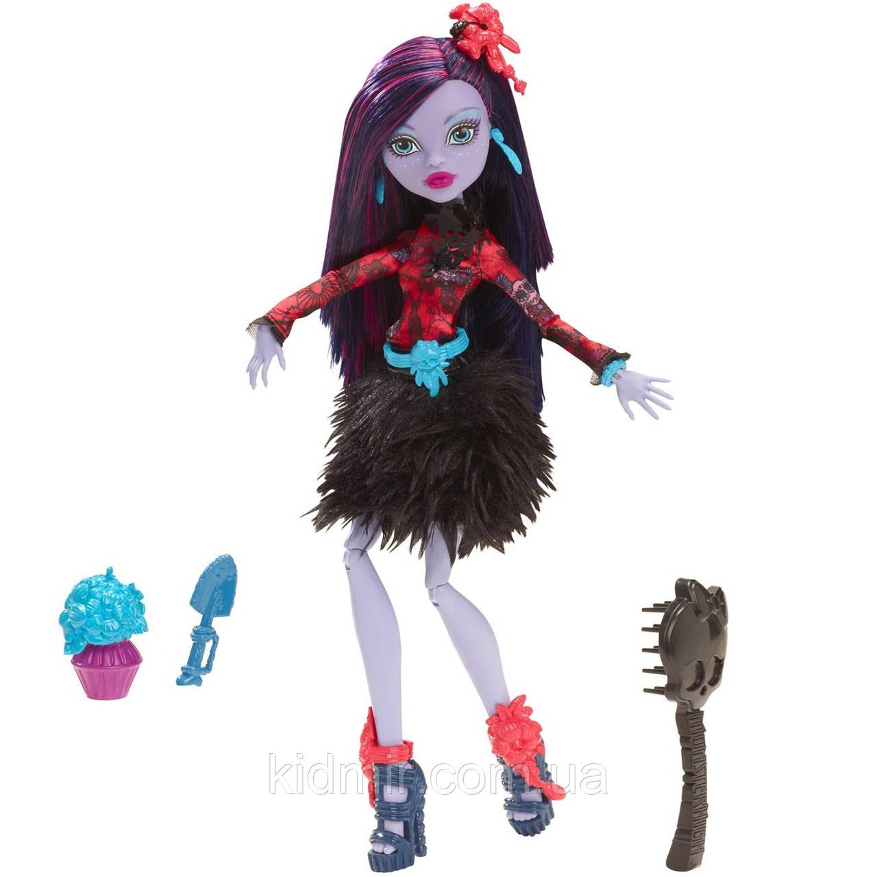 Кукла Monster High Джейн Булитл (Jane Boolittle) из серии Gloom and Bloom Монстр Хай