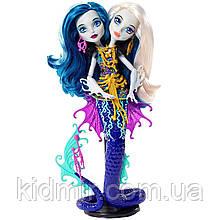 Лялька Monster High Пері і Перл Серпентайн (Peri & Pearl) з серії Great Scarrier Reef Монстр Хай