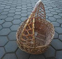 Корзина плетеная подарочная, фото 1