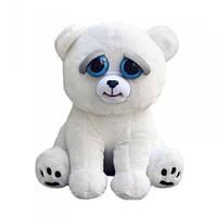 Интерактивная игрушка Feisty Pets Добрые Злые зверюшки Белый Мишка 20 см (SUN0141) КОД: 386233