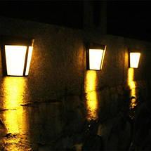 Светильник led настенный 1W. led светильники на солнечной батарее, фото 2