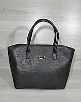 41f4a2c43b01 Классическая женская сумка «Две змейки» зеленая змея с черными ручками