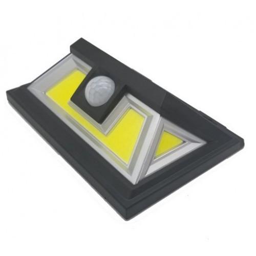 LED светильник 10W на солнечной батарее с датчиком движения