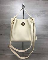 d89c8c3a416b Женская сумка бежевого цвета в Украине. Сравнить цены, купить ...