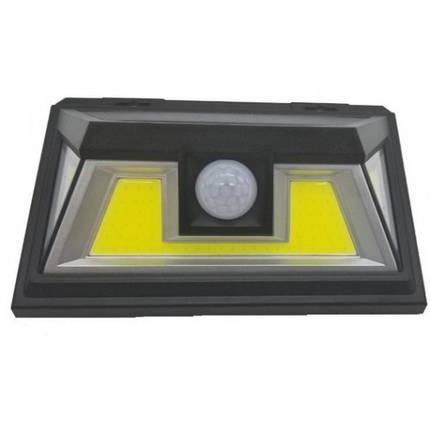 Лед фонарь, светильник 10Вт на солнечной батарее + датчик движения, фото 2